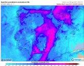 Protección Civil de Totana informa de avisos por fuertes lluvias en la Región de Murcia