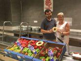 Donación de frutos del Campo de Cartagena a Caritas