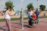 El PP de Los Alcázares impulsa los circuitos de gerontogimnasia para personas con movilidad reducida