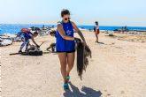 Llega a Cartagena el proyecto #PROTECTPARADISE con el objetivo de limpiar de plástico la Playa de Cala Salitrona