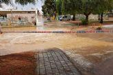 Lluvia sin incidentes durante el paso de la gota fría por el municipio