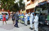 El Ayuntamiento despliega un dispositivo especial de desinfección en los centros educativos que mantendrá todo el curso