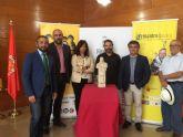 El Ayuntamiento conmemora el IV Centenario de la muerte de Cervantes con un busto homenaje a la ciudad de Murcia