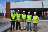 El alcalde visitó las obras de las nuevas instalaciones de Mcdonald's en San Javier, que han supuesto una inversión de más de dos millones de euros