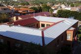 Concluye la instalación de los tejados del colegio Nuestra Señora del Rosario