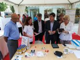 Salud participa en las actividades del Día Mundial del Corazón organizadas por la Sociedad Murcian a de Cardiología