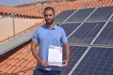 Premian un alumno del Máster en Energías Renovables por desarrollar un sistema de monitorización fotovoltaica