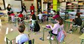 Más de mil alumnos comienzan hoy el curso de forma presencial en Lorquí