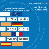 Encuentro virtual 'Nuestro hermanamiento también ha construido Europa'