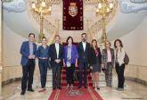 El alcalde muestra a las asociaciones medico-sanitarias la potencialidad de Cartagena como sede de congresos