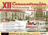 La XII Concentración de Vehículos Clásicos Ciudad de Totana tendrá lugar el próximo 20 de noviembre