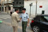 El alcalde de Alcantarilla recibe al coronel jefe del recientemente constituido Regimiento de Infantería 'Zaragoza' n°5 Paracaidista