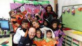 Los niños de El Cañarico disfrutan de una jornada de convivencia