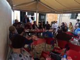Lola Sánchez anima a los vecinos de El Palmar a usar y compartir los cauces de comunicación que les acercan al Ayuntamiento de Murcia y Policía Local