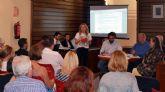 El Ayuntamiento de Campos del Río se reúne por primera vez de forma oficial con los afectados de la Urbanización de Campos del Río
