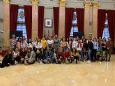 El Ayuntamiento recibe a alumnos italianos, franceses y españoles del programa Erasmus +