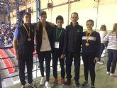 3 medallas para el Club Taekwondo Mazarr�n en el open