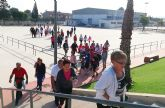 Los itinerarios saludables de Las Torres de Cotillas se inauguran con una concurrida marcha
