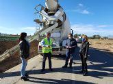 Fomento mejora la seguridad de las carreteras regionales de Altobordo, en Lorca, y la que une Puerto Lumbreras con Venta Ceferino