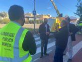 Las pedanías renuevan el alumbrado público, mejorando la visibilidad y la seguridad de los vecinos