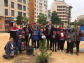 Niños de la Asociación de Discapacitados DISMO impulsan el plan SOMBRA con la plantación de nuevos árboles