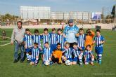 EF San Gines 82, EF Los Belones y EFB Balsicas, lideres en la clasificacion de alevines de la Liga Comarcal de Futbol Base
