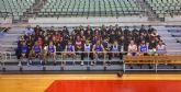 El Colegio San Vicente de Paul visita al UCAM Murcia CB