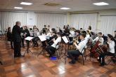 La Asoc. Musical 'Maestro Eugenio Calderón' rindió homenaje a su patrona con un variado concierto ofrecido por sus tres agrupaciones musicales