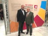 El alcalde de Totana asiste al acto en el que la Federación de Municipios de la Región de Murcia (FMRM) homenajea a los alcaldes del 79