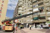Los Bomberos de Murcia entrenarán el emplazamiento de dos nuevas autoescaleras en edificios de la ciudad