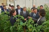 El Ministro de Agricultura, Pesca y Alimentación visita el centro de investigación y desarrollo de BASF en Utrera