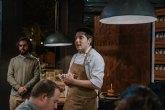 Cuatro estudiantes de gastronomía elaboran la hamburguesa más local en Degustando Murcia