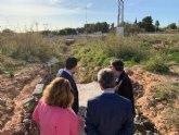 Las obras del nuevo acceso peatonal entre Pozo Aledo y San Javier estarán finalizadas en abril de 2020