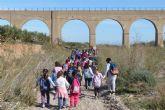 Educación pone en marcha el programa ´El Molino y las jaras de nuestro campo´ con una visita al Molino Zabala y la Rambla de los Jarales