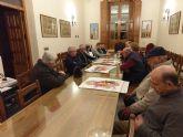Representantes de cuadrillas y agrupaciones musicales de Totana se reúnen con el Patronato de la fundación La Santa