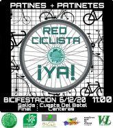 Los colectivos a favor de la movilidad sostenible activa preparan una gran bicifestación para la mañana del domingo 6 de diciembre