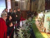 El belén de La Pava rinde homenaje a González Barnés con una figura conmemorativa