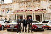 El Ayuntamiento pone a disposicion de la Policia Local e Infraestructuras catorce nuevos vehiculos