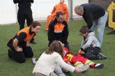 Los niños aprenden primeros auxilios y normas de seguridad