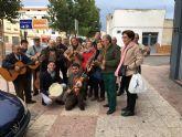 La cuadrilla de Las Torres de Cotillas cumplió con su tradicional visita navideña a los enfermos del municipio