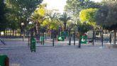 El Parque de la Compañía de Molina de Segura estrena el nuevo pipi can, sometido a una profunda remodelación