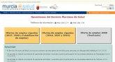 El Servicio Murciano de Salud convoca por primera vez tres plazas de servicios para personas con discapacidad intelectual