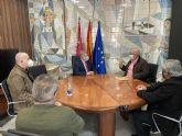 Vélez garantiza a los vecinos de Barriomar que la negociación será personal y justa, para la ocupación temporal por las obras del soterramiento del ferrocarril en Murcia