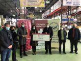 La Fundación Camino de la Cruz realiza una donación de 5.000 euros al Banco de Alimentos del Segura