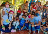 Cartagena por la Caridad se hace presente en Perú y Venezuela por Navidad