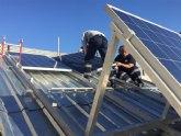 El curso de instalaciones fotovoltaicas cierra el año con cuatro nuevas incorporaciones al mercado laboral