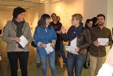 La artista lumbrerense Ana Gabarrón inaugura su exposición 'Un balanceo, un recuerdo' en el Laboratorio de Arte Joven de Murcia