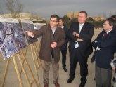 El segundo tramo de la ronda central mejorará la fluidez del tráfico en Lorca con un nuevo puente sobre el río Guadalentín