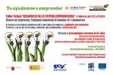 Ofertan un taller para el desarrollo de la cultura emprendedora