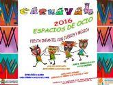 Los Espacios de Ocio de la Concejalía de Servicios Sociales preparan el Carnaval